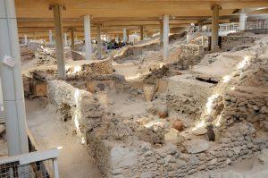 La civilización Minoica de Santorini Grecia